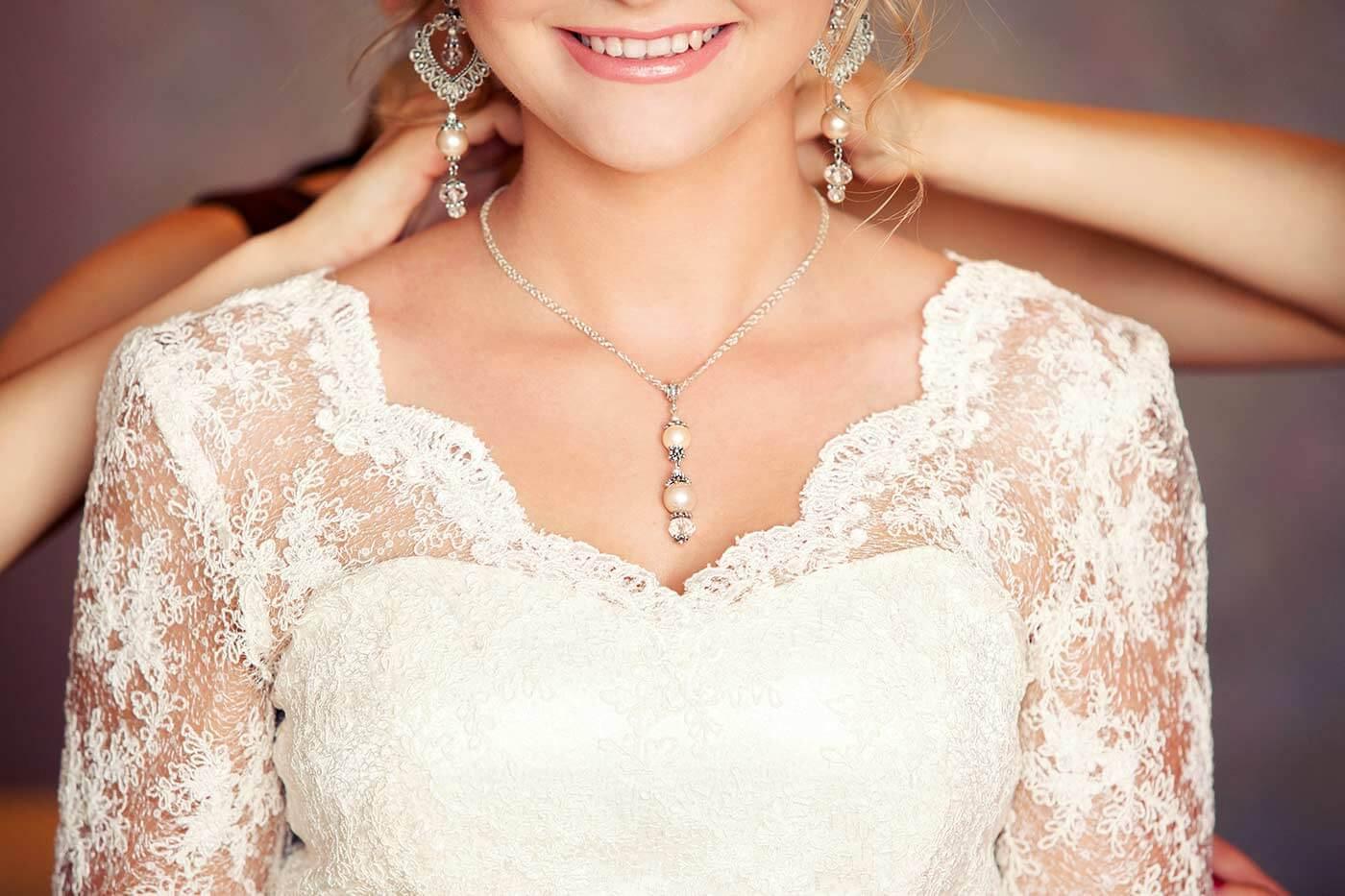 Brautkleid-Ausschnitt