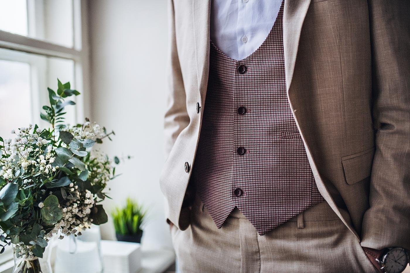 Brautvater Anzug