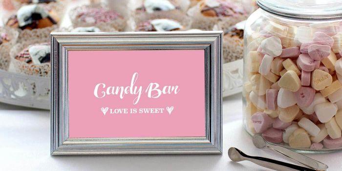 Candy Bar Aufsteller