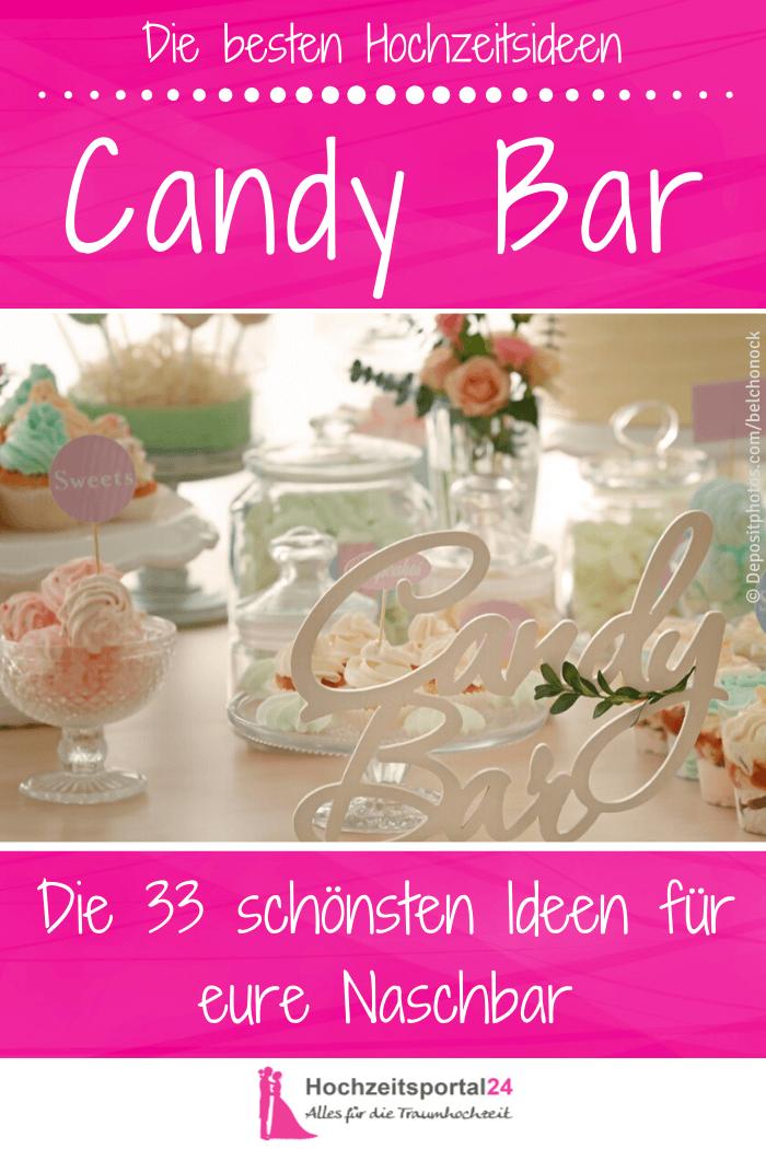 Candy Bar für Hochzeit