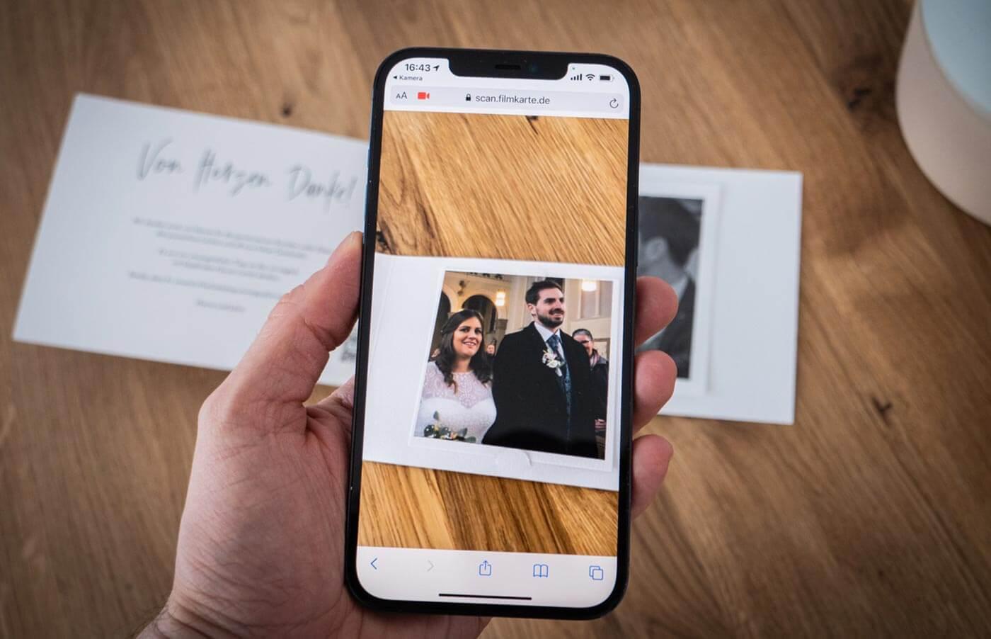 Danke-Video Hochzeit