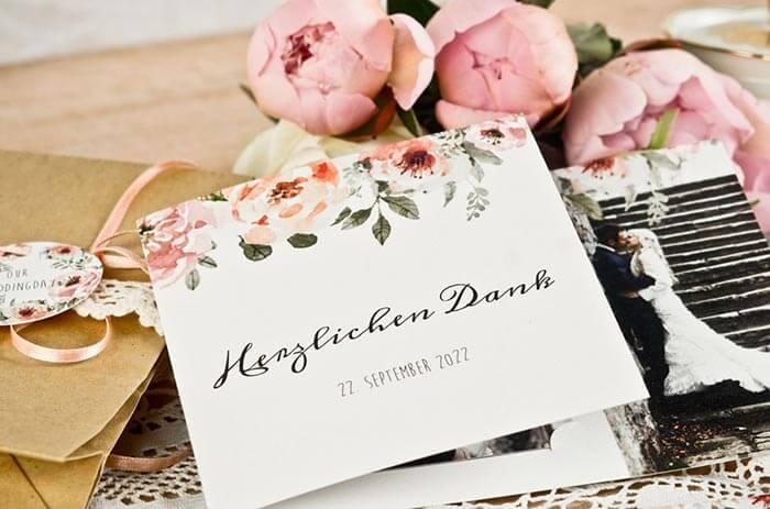 Danksagung Hochzeit Text