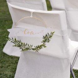 Goldene Hochzeit Dekoration