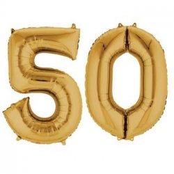 Luftballons Goldene Hochzeit