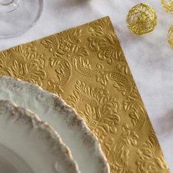 Servietten zur Goldenen Hochzeit