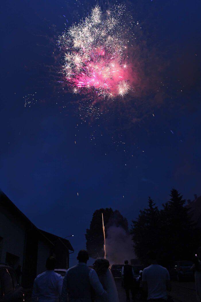 Feuerwerk kaufen Hochzeit