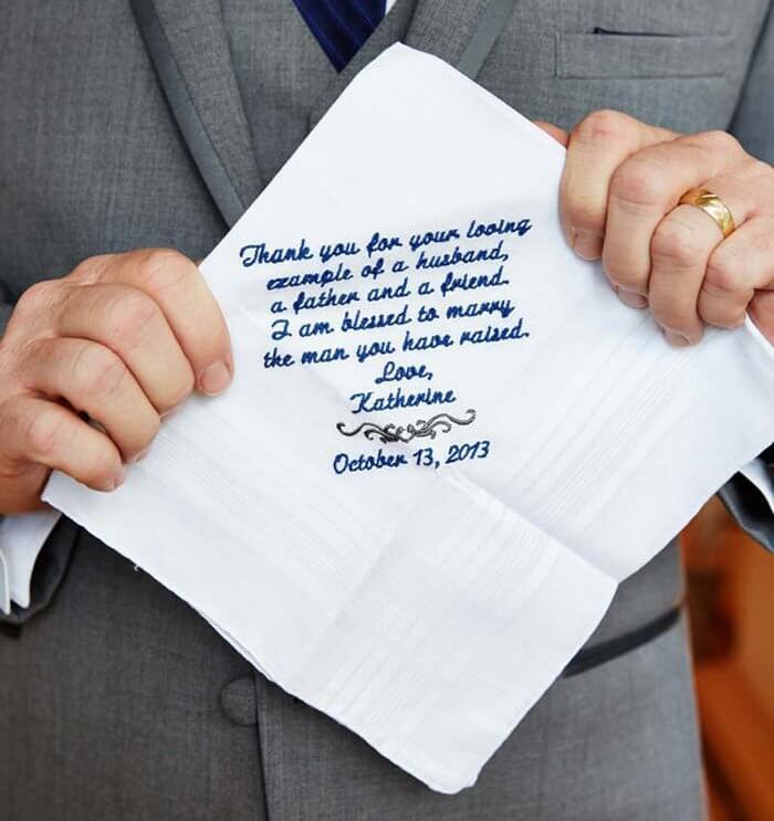 Taschentücher Hochzeit Freudentränen
