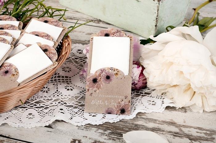 Taschentücher für Hochzeit