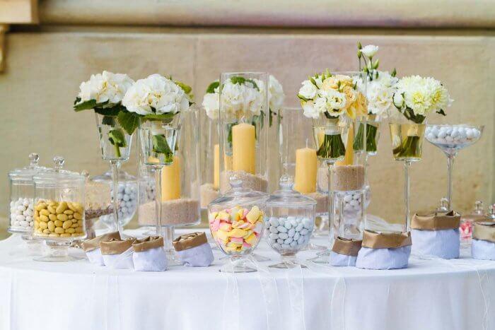 Mandeln Hochzeit