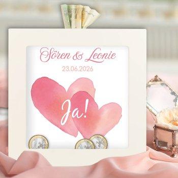 Hochzeitsgeschenk Geld Bilderrahmen