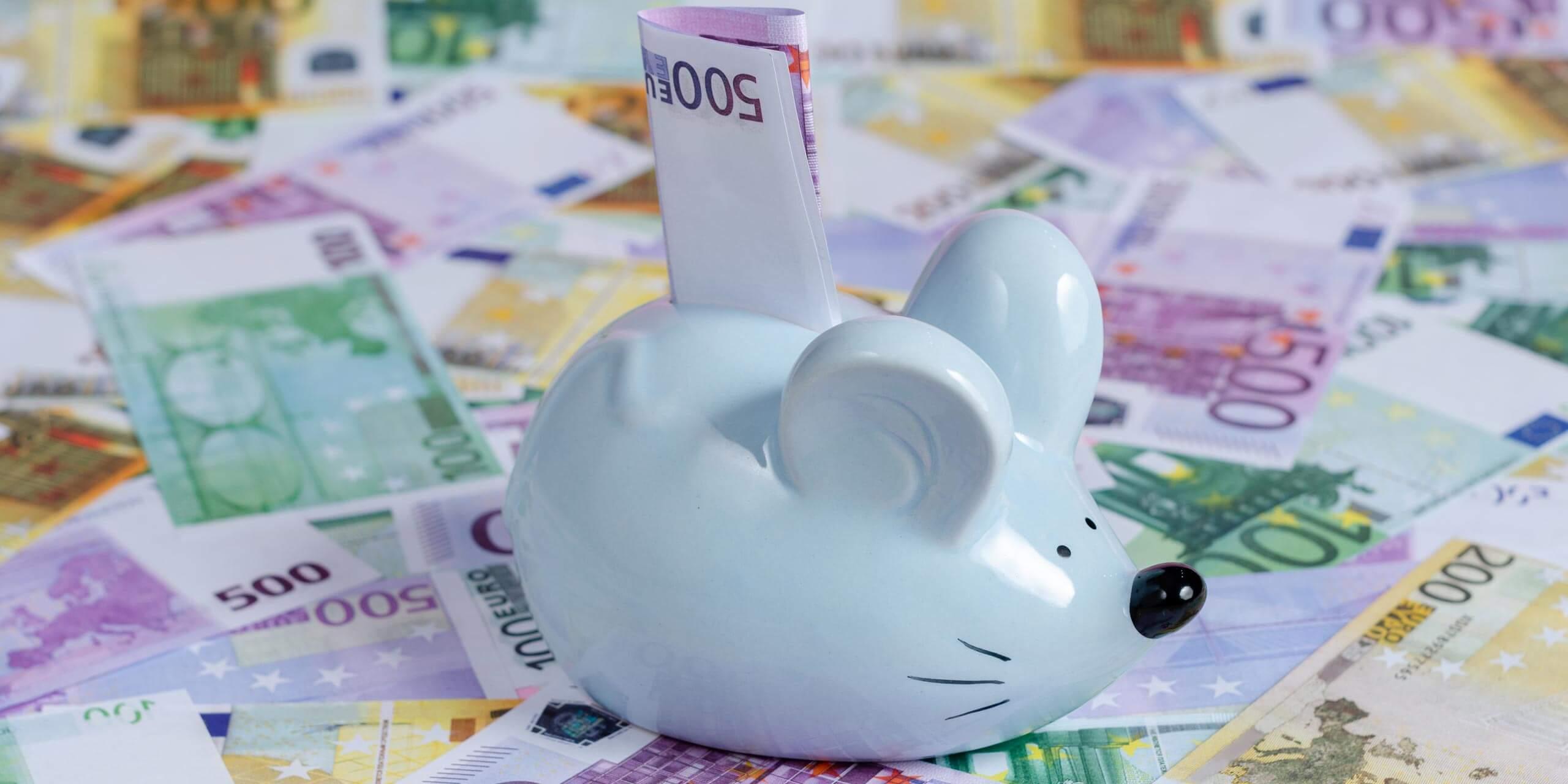 Geldgeschenke mit Mäusen