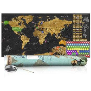 Hochzeitsgeschenk Weltkarte