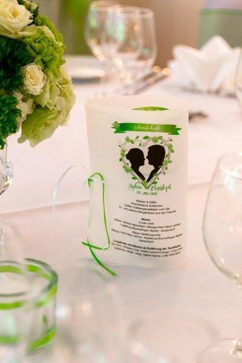 Getraenkekarte Hochzeit gestalten