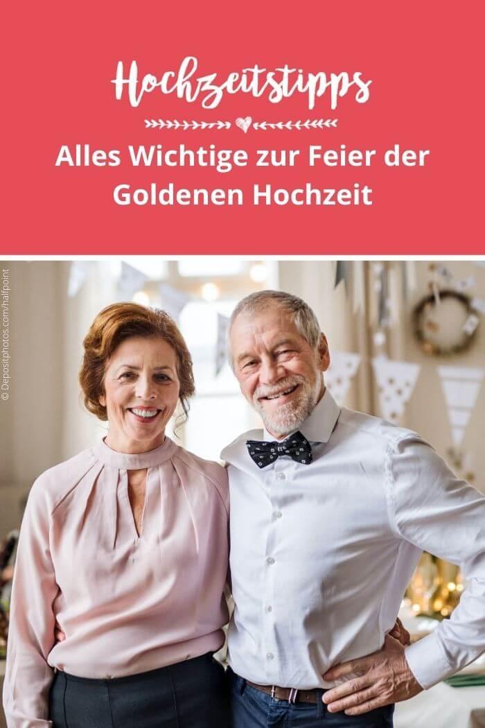 Goldene Hochzeit Ideen
