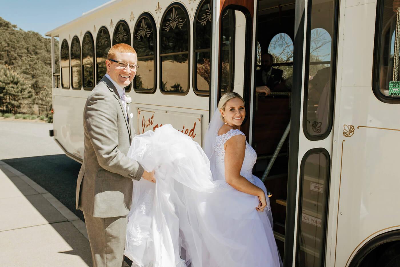 Hochzeitsbus