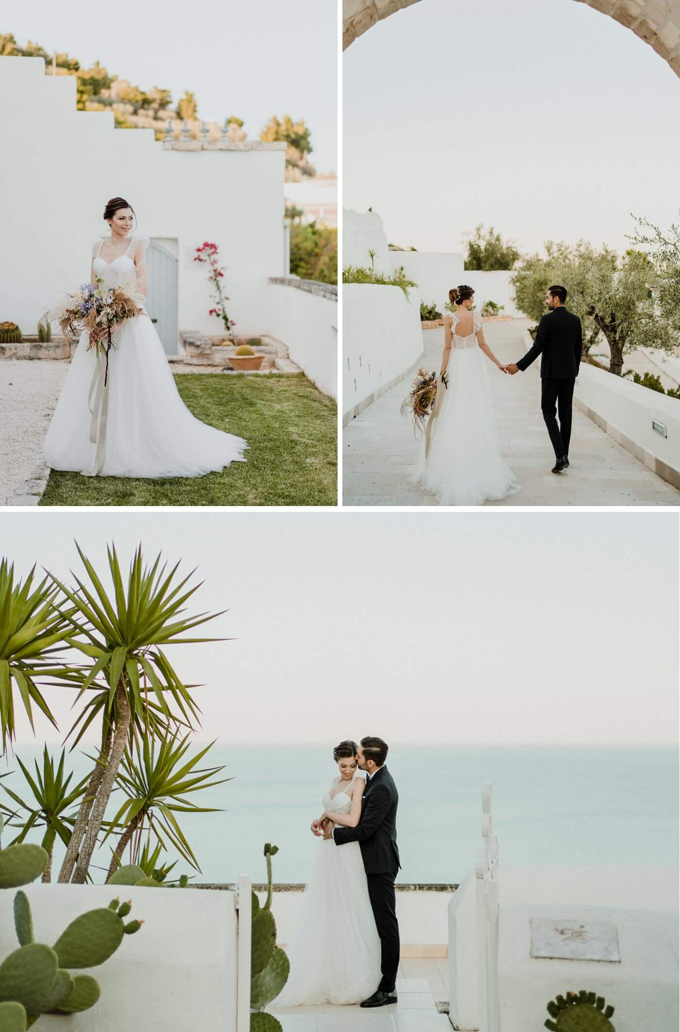 Heiraten am Strand Italien