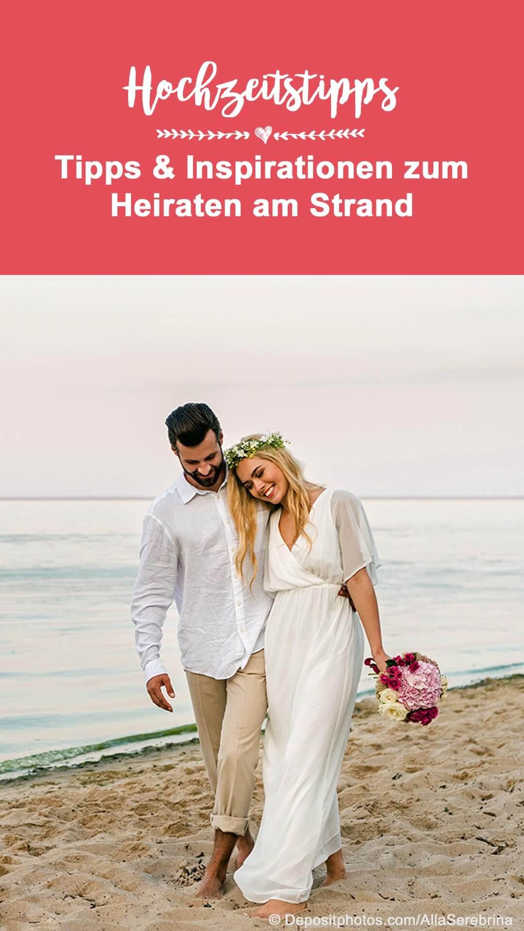 Hochzeiten am Strand