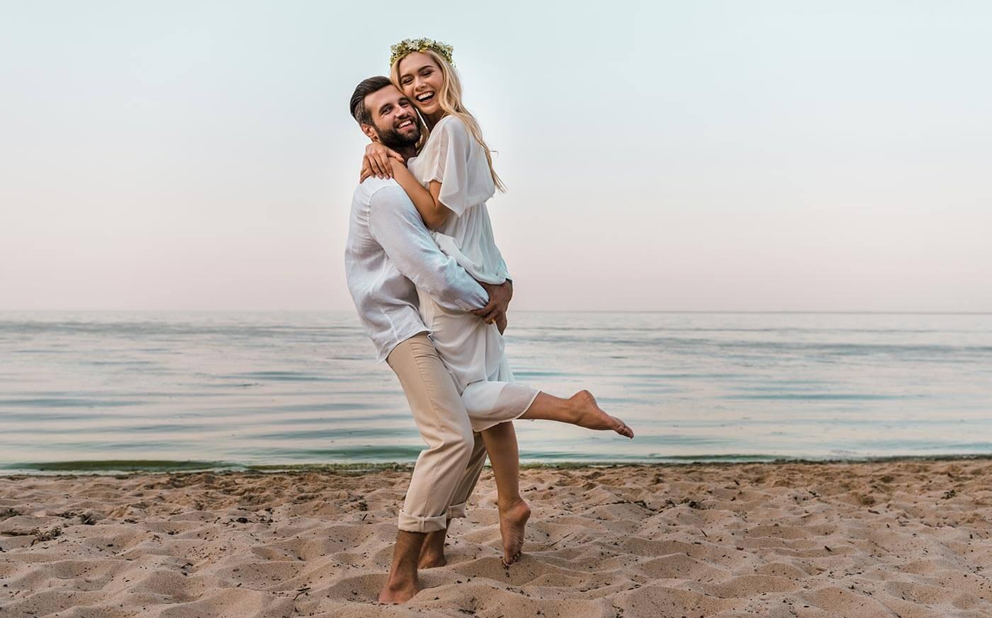 Hochzeitskleider Strand