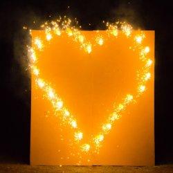 Brennendes Herz Hochzeit günstig