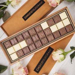 Heiratsantrag Schokolade