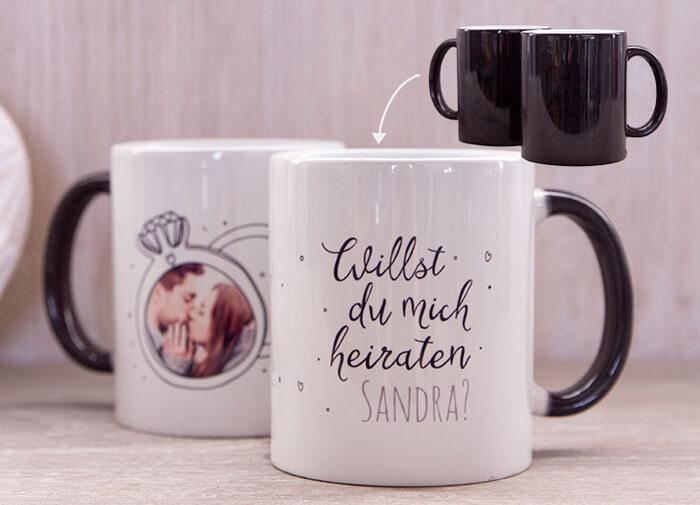 Willst du mich heiraten Tasse