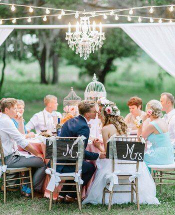 Outdoor Hochzeit