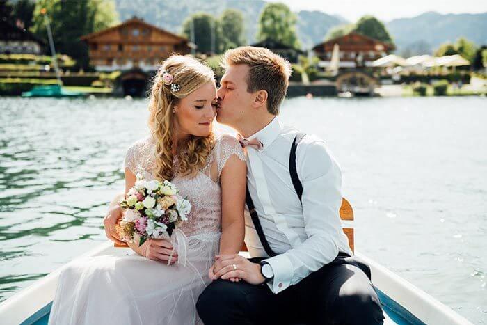 Seehochzeit Heiraten am Tegernsee