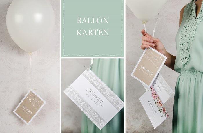 Ballonkarten