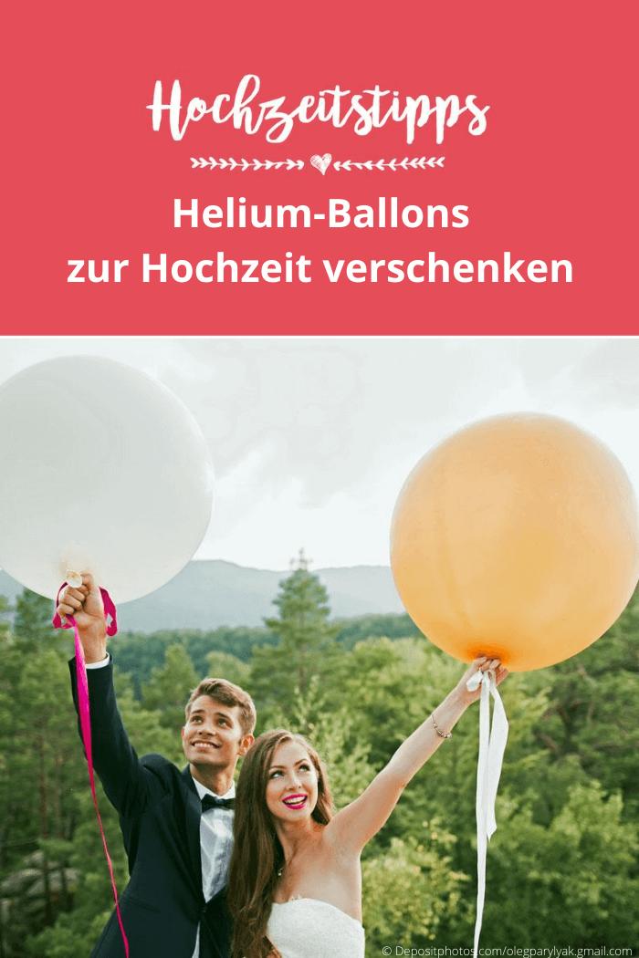 Geschenkballon Hochzeit