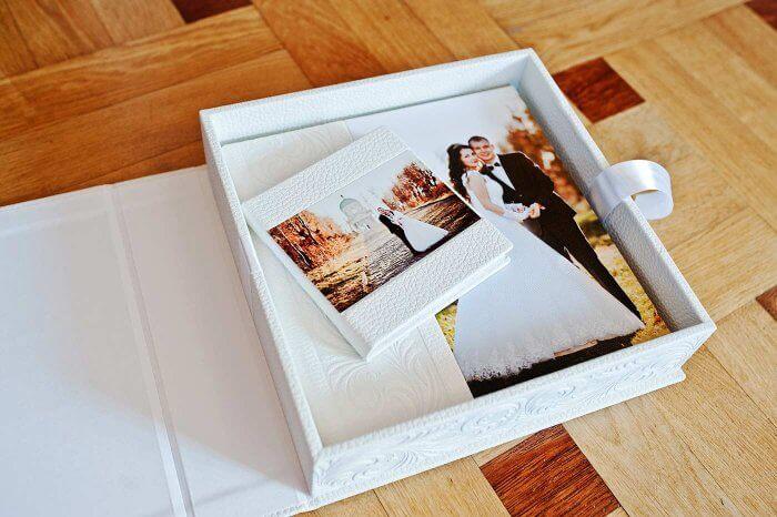 Fotoalbum Hochzeit hochwertig