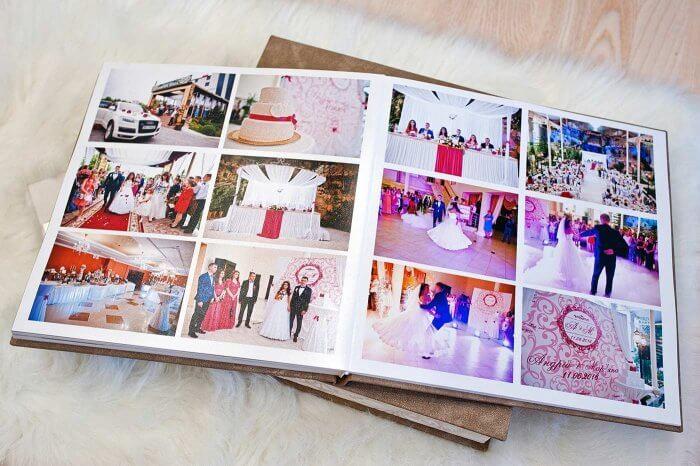 Hochzeitsbuch Seite gestalten