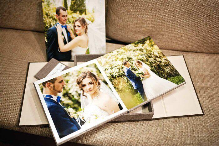 Hochzeitsbuch gestalten