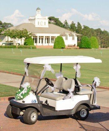 Golfcart Hochzeit
