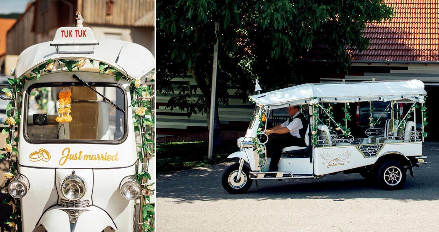 Hochzeit Tuktuk