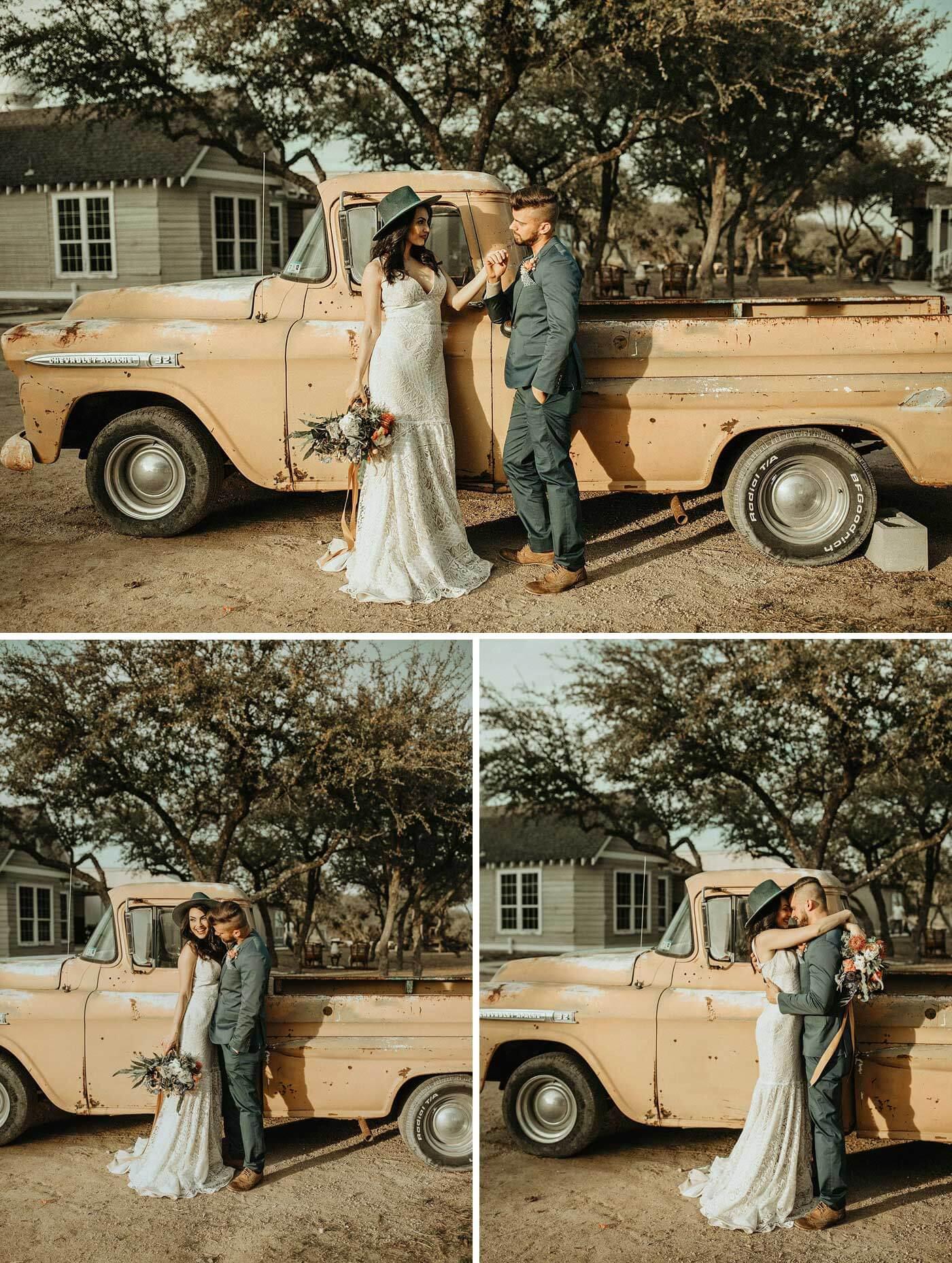 Pickup Hochzeit