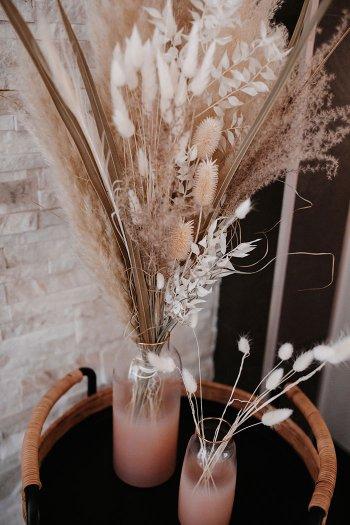 Trockenblumen Hochzeitsdeko