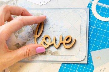 Einladung zur Hochzeit basteln-Material