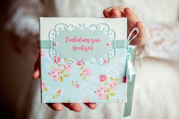 Hochzeitseinladungen basteln