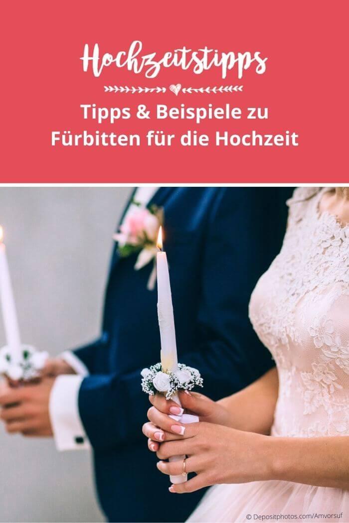 Hochzeit Fürbitten