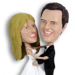 Brautpaar 3D Comicfigur