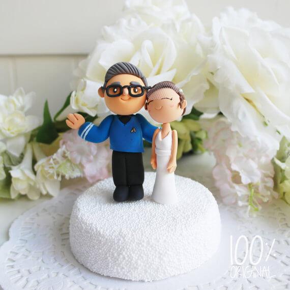 Tortenfiguren Individuell Nach Dem Bild Des Brautpaars