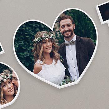 Hochzeitsfoto Herz