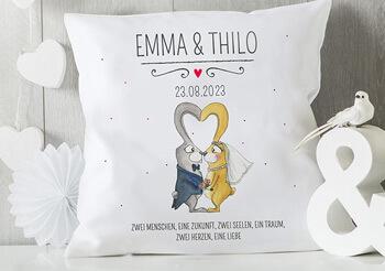 Kissen für Brautpaar