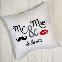 Mr und Mrs Kissen