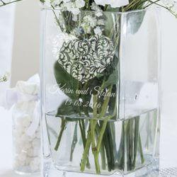 Hochzeitsvase Herz