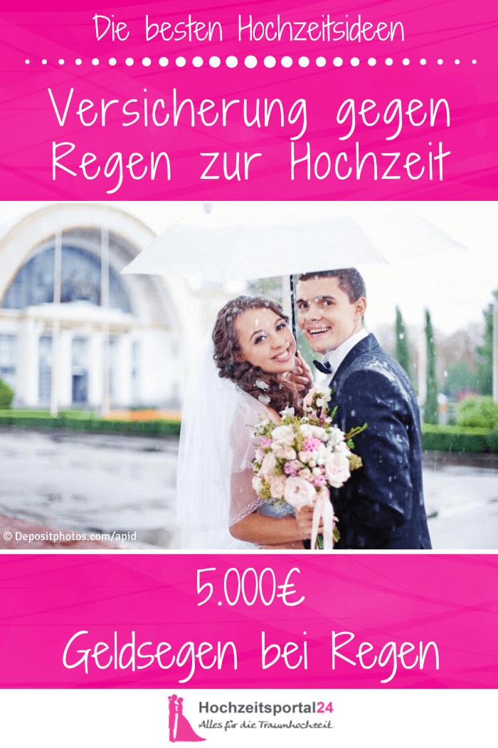 Hochzeitswetter-Versicherung