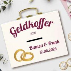 Geldkoffer zur Hochzeit