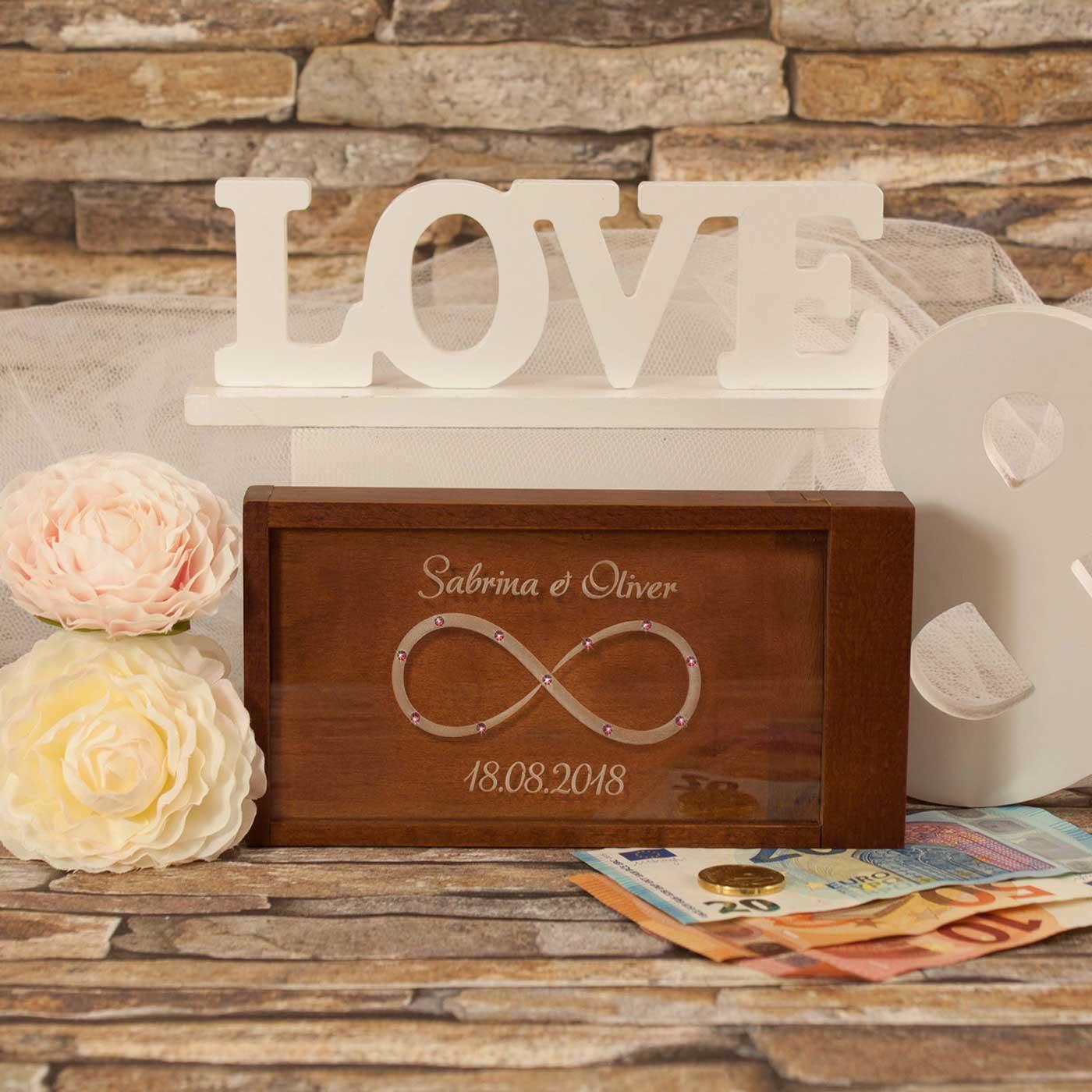 geldgeschenk zur hochzeit magische geldgeschenkbox. Black Bedroom Furniture Sets. Home Design Ideas