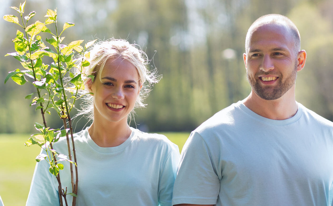 Baum schenken Hochzeit