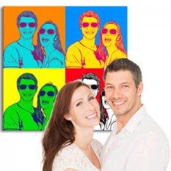 Pop-Art Wandbild